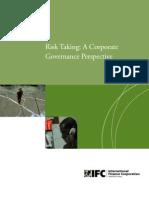 Risk Taking Governance Respective