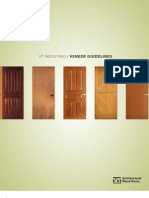 Vt Industries Architectural Wood Doors Veneer Guidelines Brochure