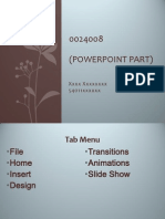 Wicha 0024008 Part 1 Program Powerpoint (Class work, not homework)