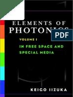 Elements of Photonics Volume 1
