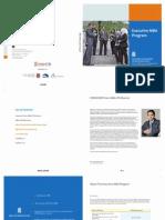 MBA Executive Brochure