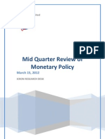 Mid Quarter Monetary Policy Review
