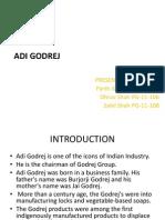 Adi Godrej