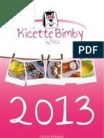 Bimby Calendario 2013