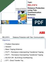 DistanceProtection Using Tele-Communication Schemes