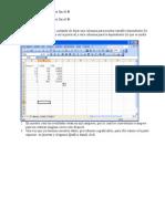 Manual para regresión lineal en Excel