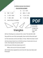 Term 3 Sheet 3
