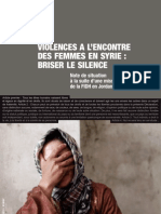 Rapport Syrie FR