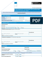 UTS Application Form