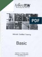 Modul Mikrotik Training Basic