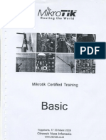 Modul Mikrotik Training Basic