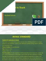 Chalkboard Personal Statment