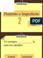 Preterite v Imperfect
