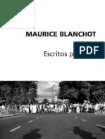 Blanchot-Escritos políticos