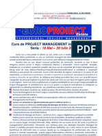 Curs Project Management in Constructii 2013