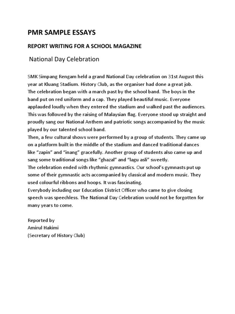 essay writing national day celebration