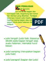 Metodologi Penulisan (Drg. Rini)