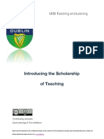 An introduction to the Scholarship of Teaching_scd