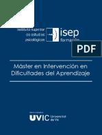 Master Intervencion en Dificultades Del Aprendizaje 12-13 Pres (OK)
