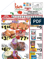 LaRosa Market Ad Starts April 30th