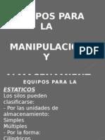Equipos Para La Manipulacion y Almacenamiento de Mercancias