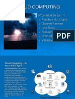 Cloud Computing Isha