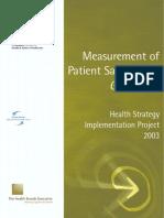 Patient Satisfaction Report