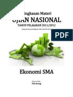 Ringkasan Materi UN Ekonomi SMA 2012