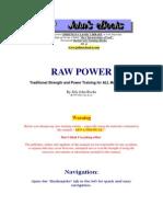 Raw Power 6-19-20
