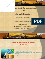 Presentacion Mercados Financieros . Ecuador