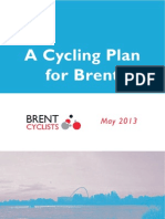 Cycling Plan for Brent