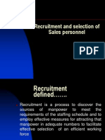 Recruitment and Selection-1