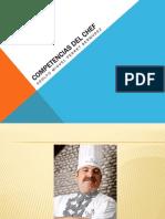Competencias Del Chef