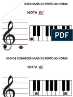 Notas Ao Piano