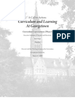 Georgetown Curriculum Changes
