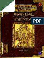 D&D 3.0 - Manual de Psiónica