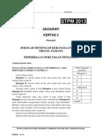 Soalan Percubaan Penggal 2 STPM 2013
