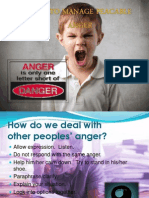 How to Manage Peacable Anger