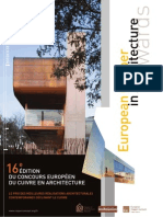 Brochure Candidature Concours Ecaa Cuivre 2013