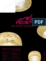 FEDE - NEW LIGHTING Collection 2013