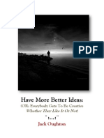 Jack Oughton - Get More Better Ideas V1.0