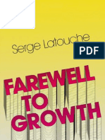 Farewell to Growth - Serge Latouche