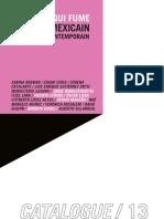 Editions Le Miroir qui fume / Catalogue 2013