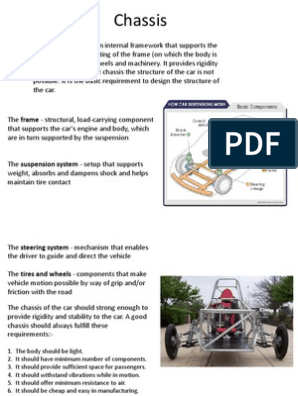 Chassis Car Suspension Vehicle Automotive Technologies