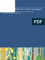 ESG Tool Kit for Fund Managers