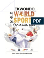 Outline Taekwondo World Sports Festival 2013