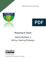 Preparing to Teach, 2.Preparing Teaching Materials