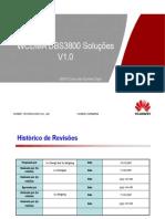 WCDMA DBS3800 Solução das Configurações V1.0