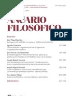 Argumentos Filosoficos Creencias Religiosas y Razon Publica - Anuario Filosofico