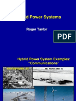 Hybrid Power Systems